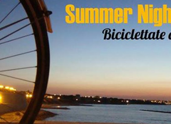 Summer Night Bike, ripartono le passeggiate serali di Biciliae
