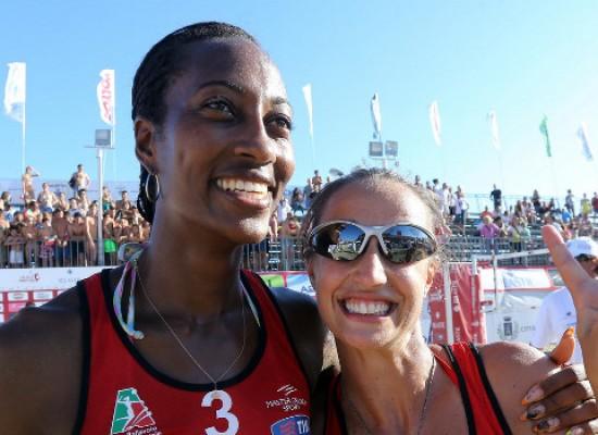 La biscegliese Margaret Altomonte conquista lo scudetto di beach volley con la Ecolav Urbino