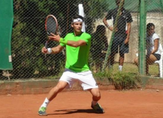 Andrea Pellegrino eliminato dal forte Carballes Baena alla San Benedetto Tennis Cup