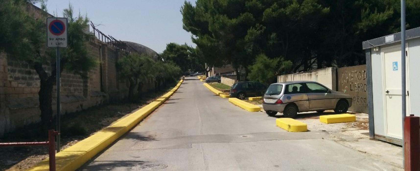 Dissuasori anti parcheggio abusivo in Carrara Camposanto, ma i bagnanti ci vanno lo stesso