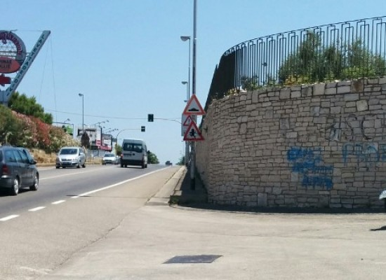 Incidente stradale in zona Ponte Lama