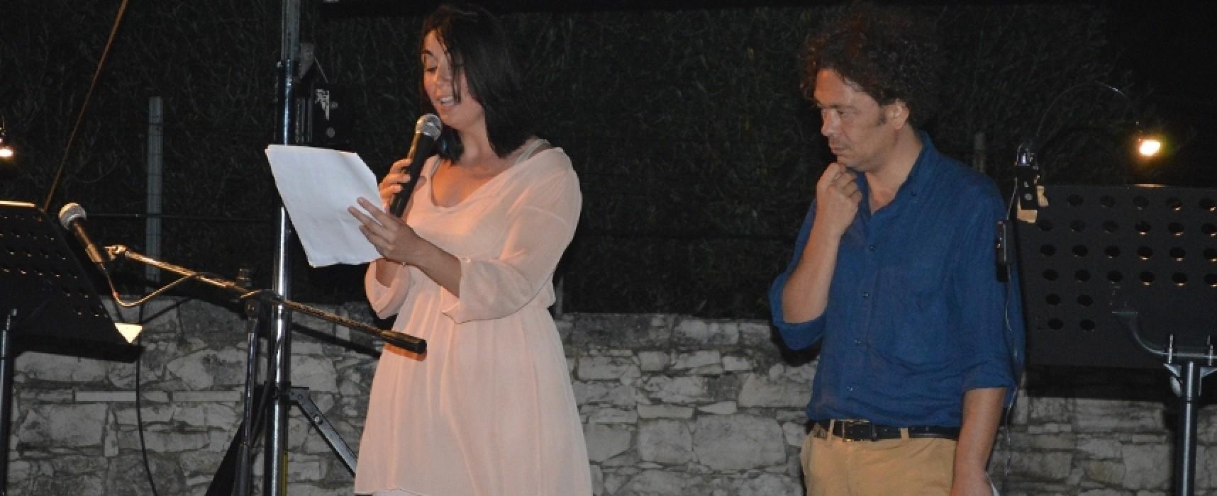 Notte di Poesia al Dolmen, la pioggia non ferma la quinta edizione /FOTO