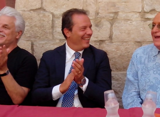 "Conferenza Stampa Premio CineDolmenFest 2014, Placido: ""Bisceglie location ricca di fascino"" / VIDEO e FOTO"