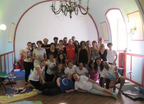 Yoga della risata, concluso il seminario per la formazione dei nuovi esperti della disciplina