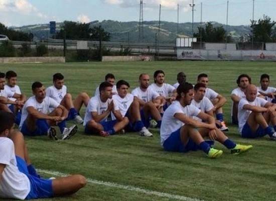 Prima giornata di allenamenti per il Bisceglie nel ritiro di Gubbio