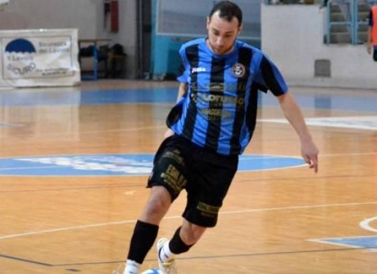 """Futsal Bisceglie botto a sorpresa, preso """"Sheva"""" De Cillis"""