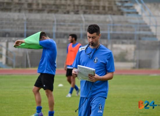 """Mister De Luca dopo il Gallipoli: """"Bene così, questo è il mio calcio"""", Zotti: """"Contro il Brindisi per dire la nostra"""""""