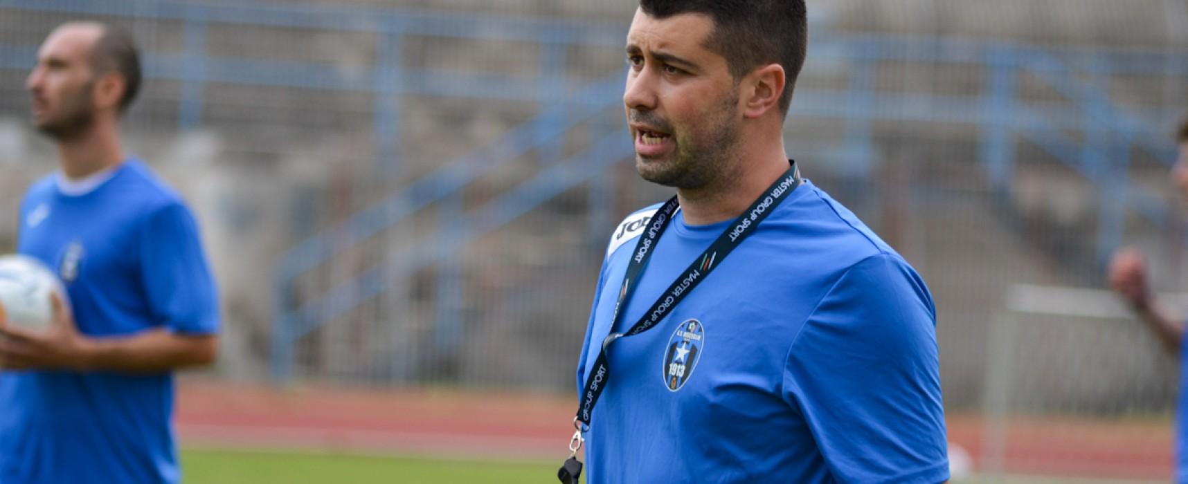 """Bisceglie Calcio, De Luca: """"Gara di sacrificio per tutti, ma abbiamo meritato"""""""