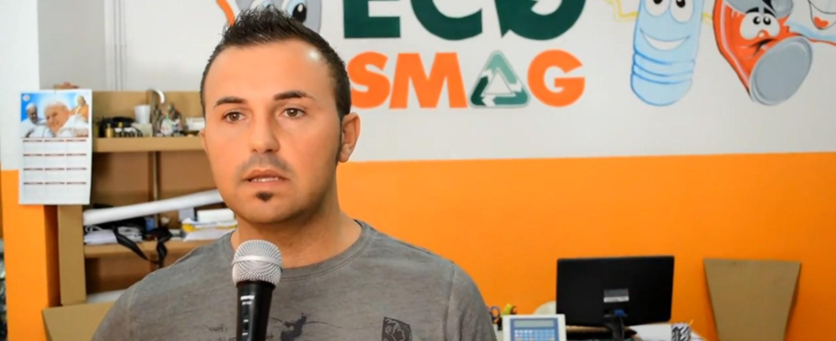 Chiude l'Ecopunto di Bisceglie, i gestori accusano l'amministrazione comunale / VIDEO