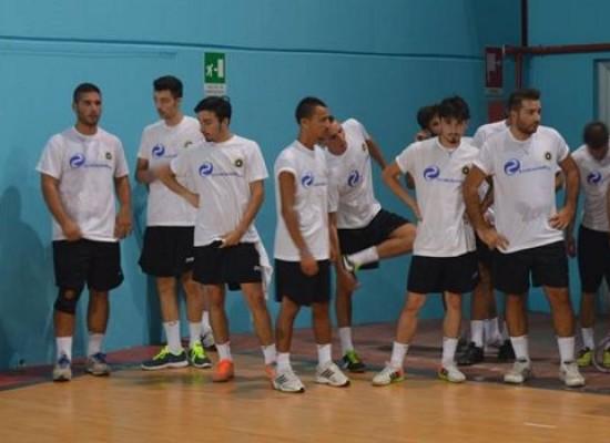 Entusiasmo e voglia di fare al raduno del Futsal Bisceglie/VIDEO