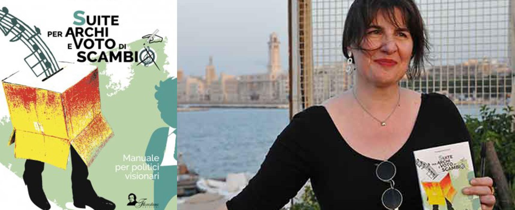 Fantapolitica e musica chiudono i pomeriggi all'ombra di un libro: ospite Carmela Formicola