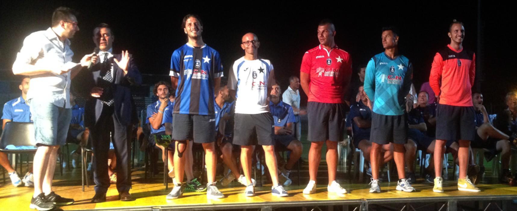 Il Bisceglie Calcio si presenta ai propri tifosi, domenica l'esordio ufficiale