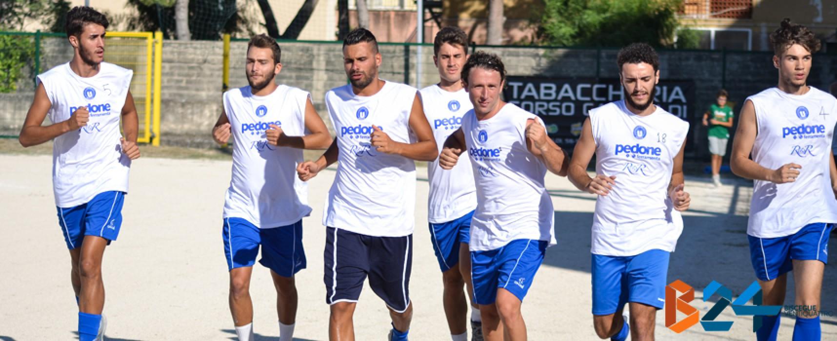 Test amichevole a Barletta oggi per l'Unione Calcio