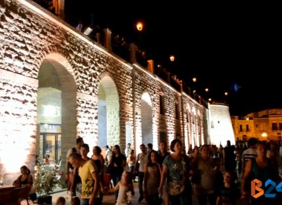 """Inaugurato il nuovo waterfront di Via Nazario Sauro, sindaco Spina : """"Un'opera straordinaria"""" /VIDEO"""