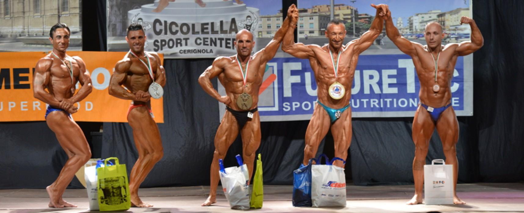 Bodybuilding: il biscegliese Francesco Di Leo vince anche a Taranto /FOTO