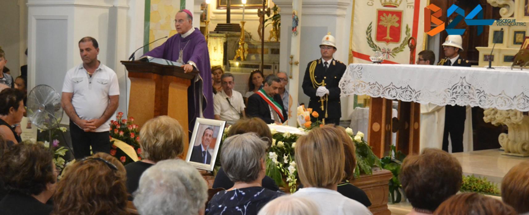 Svolti oggi pomeriggio i funerali di Tommaso Di Pierro