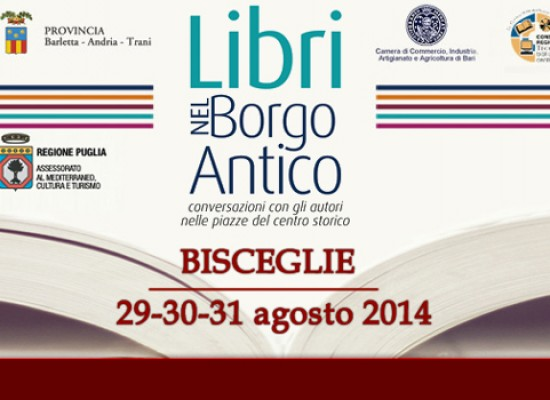 Libri nel Borgo Antico, si comincia: tutti gli autori impegnati venerdì 29 agosto