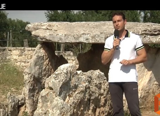 "Bisceglie's wonderful countryside: ""Piacere, Bisceglie"" discloses dolmen, grottoes and farmhouse / VIDEO"