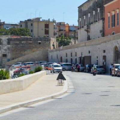 Via Nazario Sauro chiusa al traffico per presentazione Bisceglie Calcio