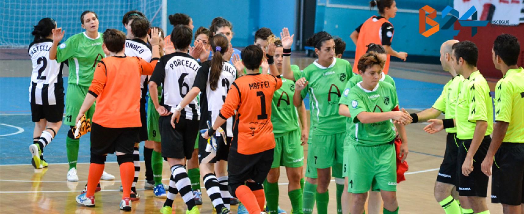 Futsal femminile: sconfitta immeritata all'esordio in A per l'Arcadia / FOTO