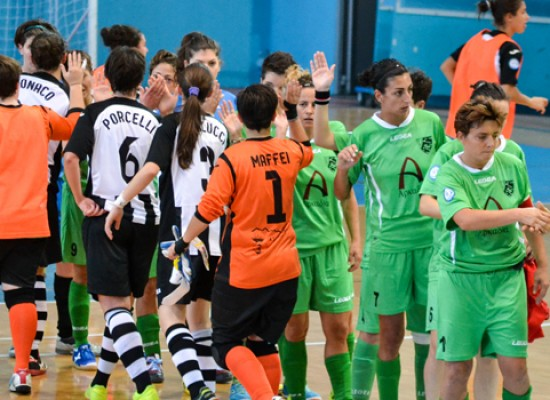 L'Arcadia Bisceglie cerca riscatto oggi in casa contro il Futsal Melito