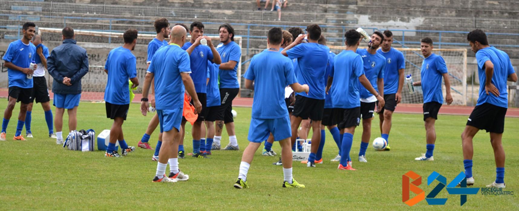 Il Bisceglie calcio all'esame Taranto, domani la sfida allo Iacovone