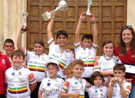 """Ciclismo: terzo posto finale per la """"G. Cavallaro"""" al Campionato Regionale"""