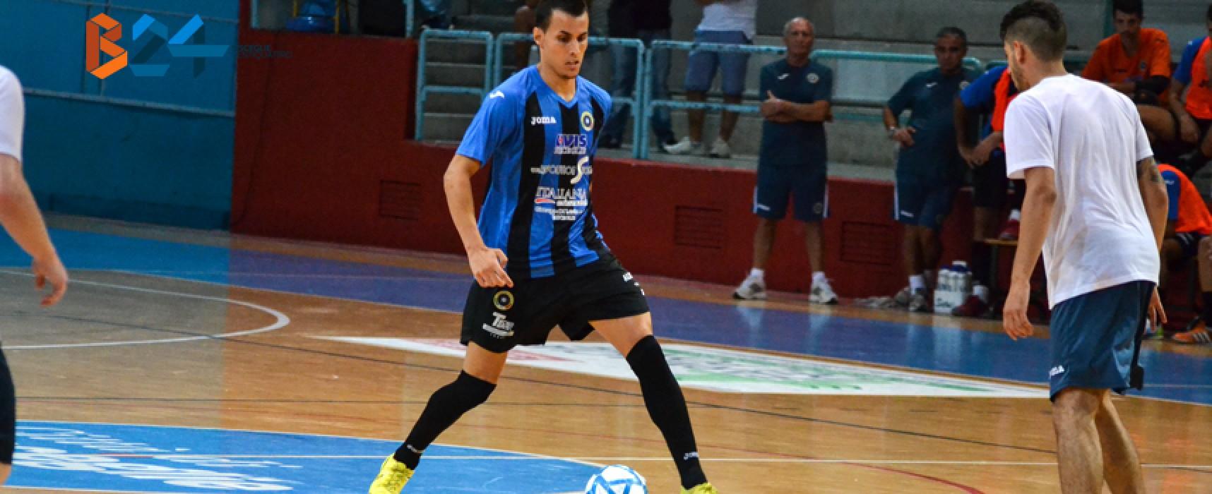 Futsal Bisceglie, 3-3 all'esordio sul difficile campo del Venafro