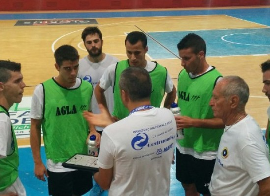 Pareggio in amichevole con il Canosa per il Futsal Bisceglie