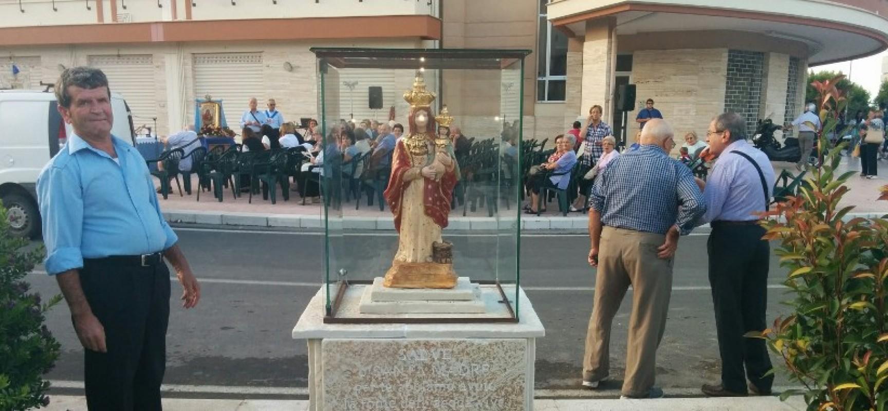 Inaugurata l'edicola votiva della Vergine Santa del Pozzo