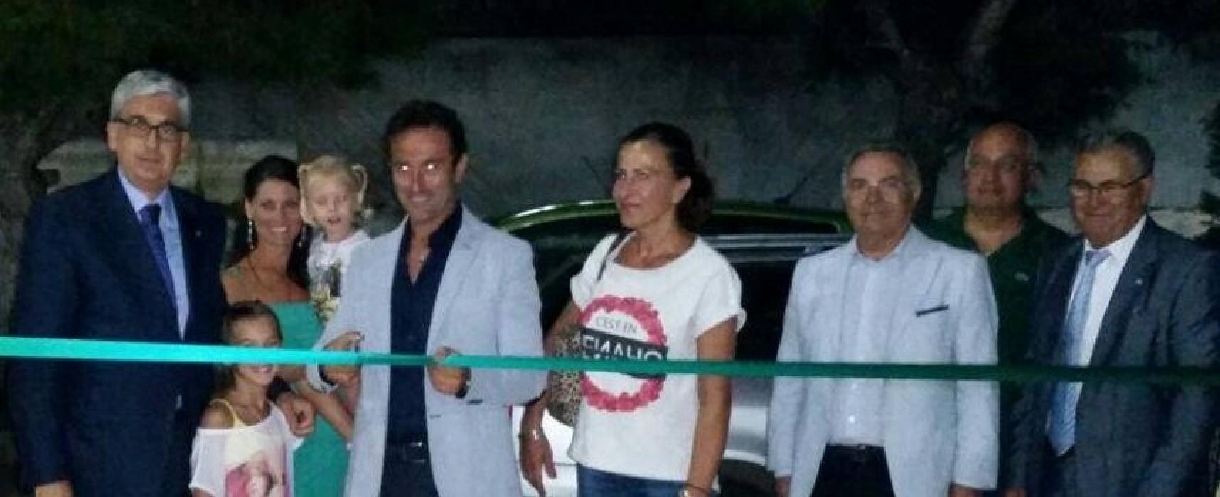 Ospiti d'onore per l'inaugurazione della nuova casa del Nettuno C5