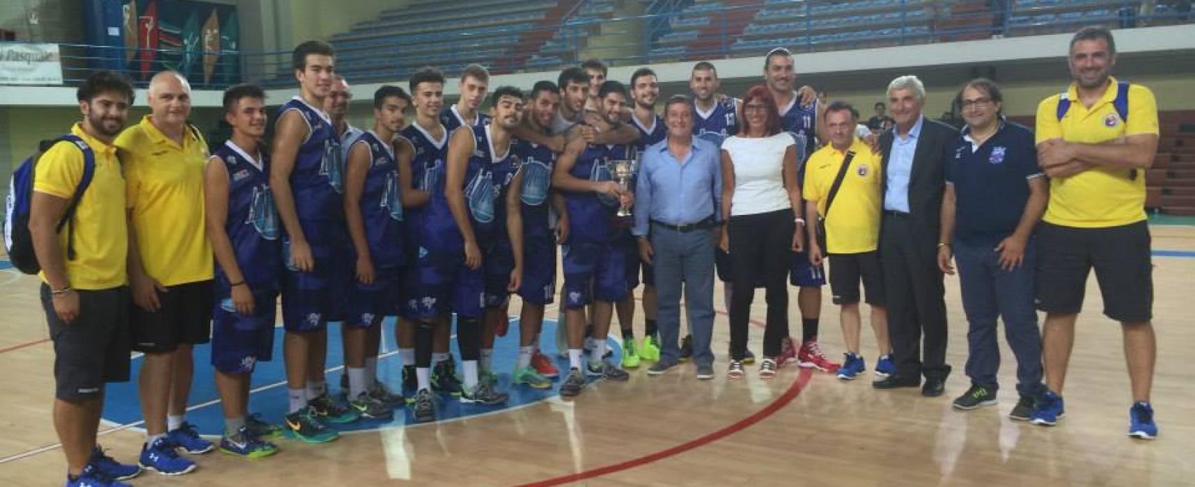 L'Ambrosia basket Bisceglie vince senza problemi il trofeo Vito Pinto