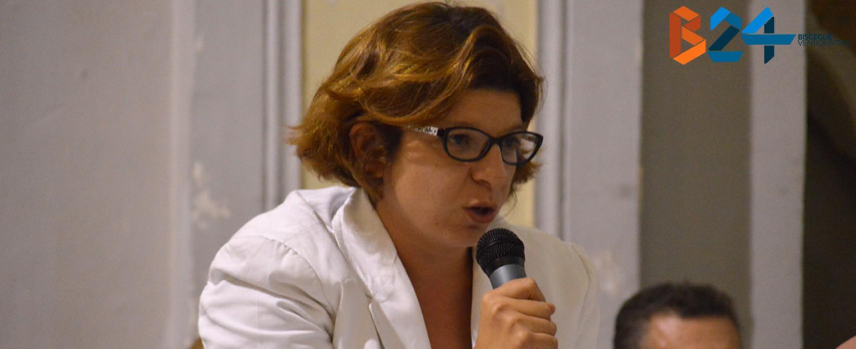 Samanta Dell'Orco: «Difficile fare politica a Bisceglie, ma resto al mio posto»