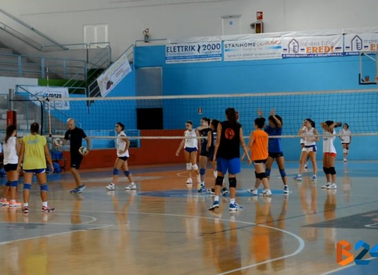 Sportilia Volley si prepara all'esordio in campionato di domenica