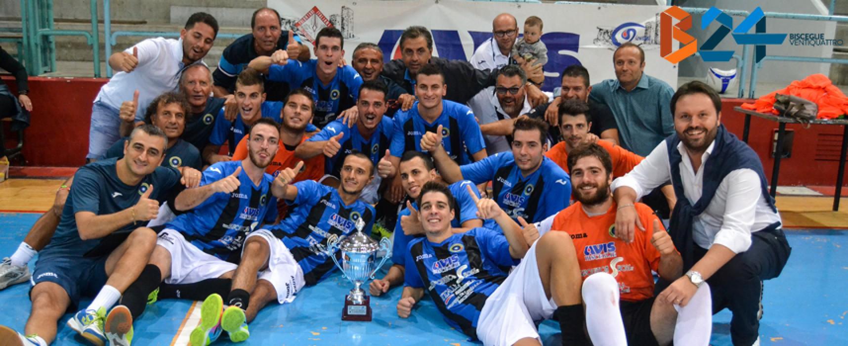 """""""2° Trofeo Avis Bisceglie"""", il Futsal Bisceglie vince e convince / FOTO"""