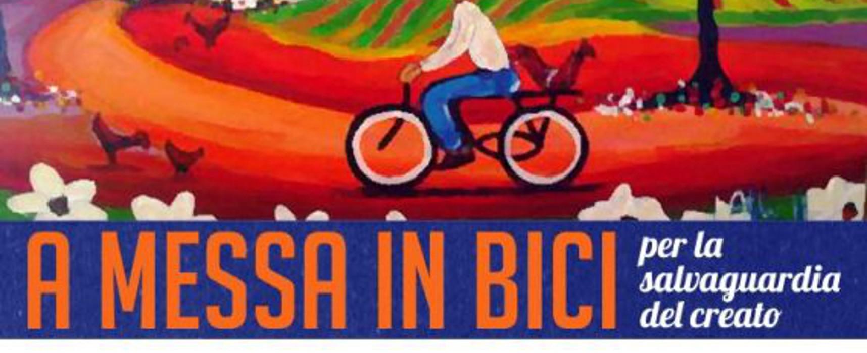 """""""A messa in bici"""", iniziativa firmata Pastorale Giovanile Bisceglie e Biciliae-FIAB"""
