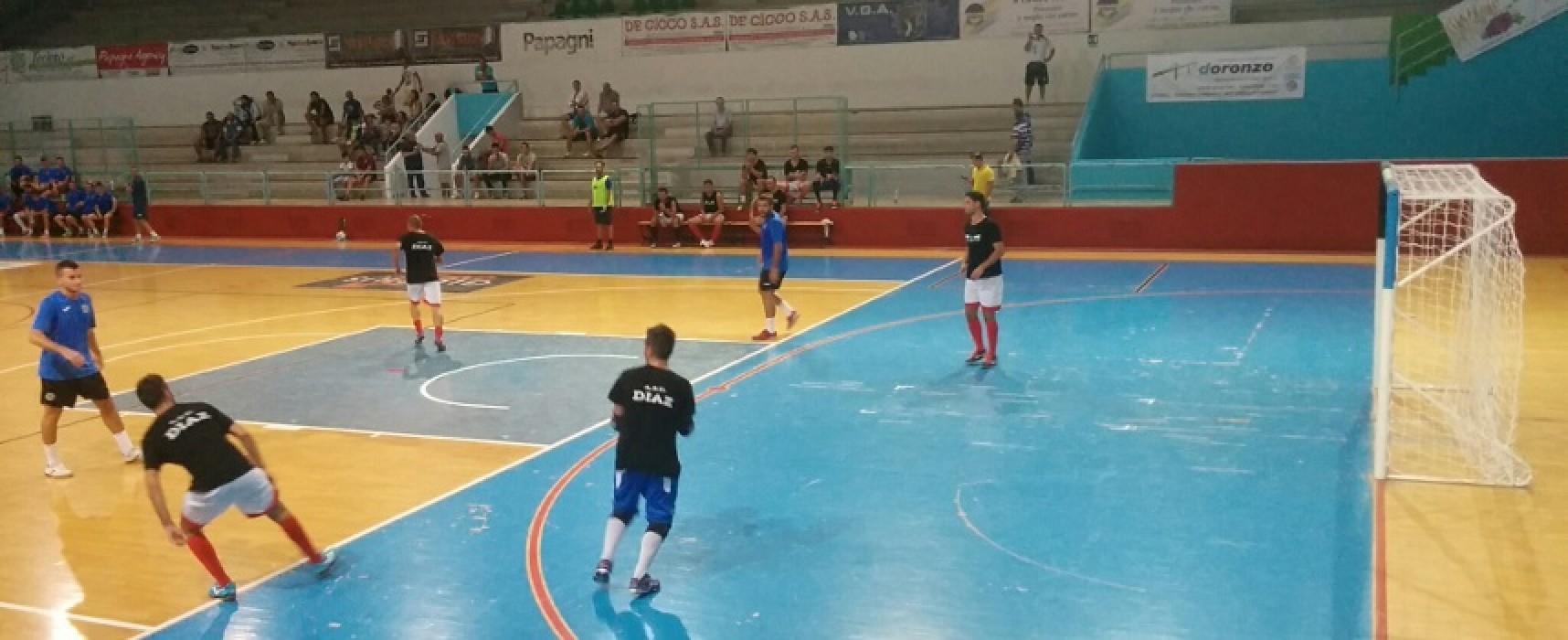 Futsal Bisceglie: oggi la presentazione, ieri test vittorioso con la Diaz C5