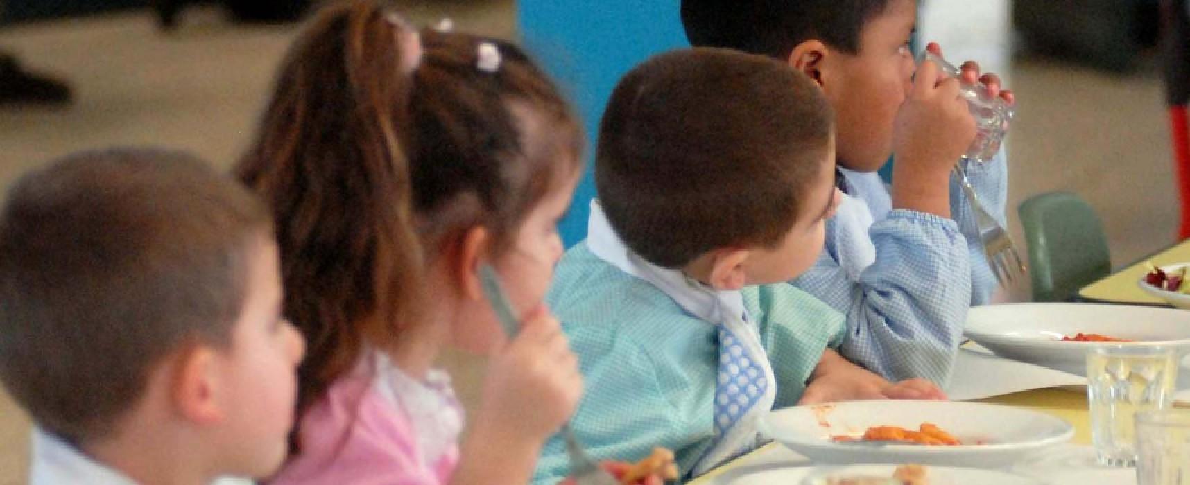 Scuole dell'infanzia, stabilite le tariffe per il servizio di refezione scolastica / DETTAGLI