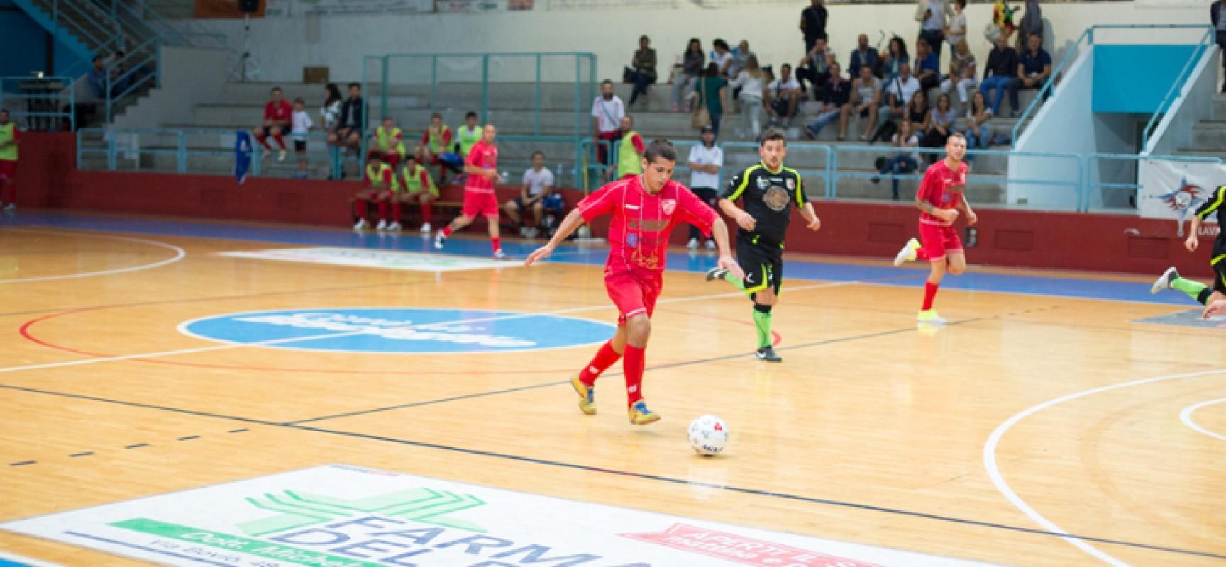 Diaz C5 sconfitta 1-3 in casa dal Futsal Canosa