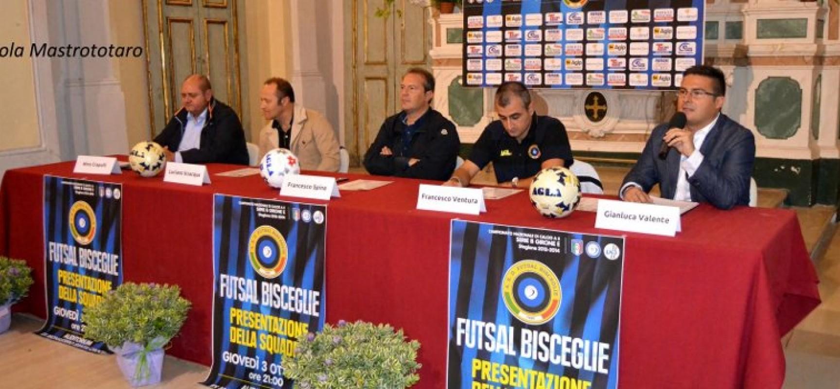 Giovedì 11 settembre il Futsal Bisceglie si presenta ufficialmente