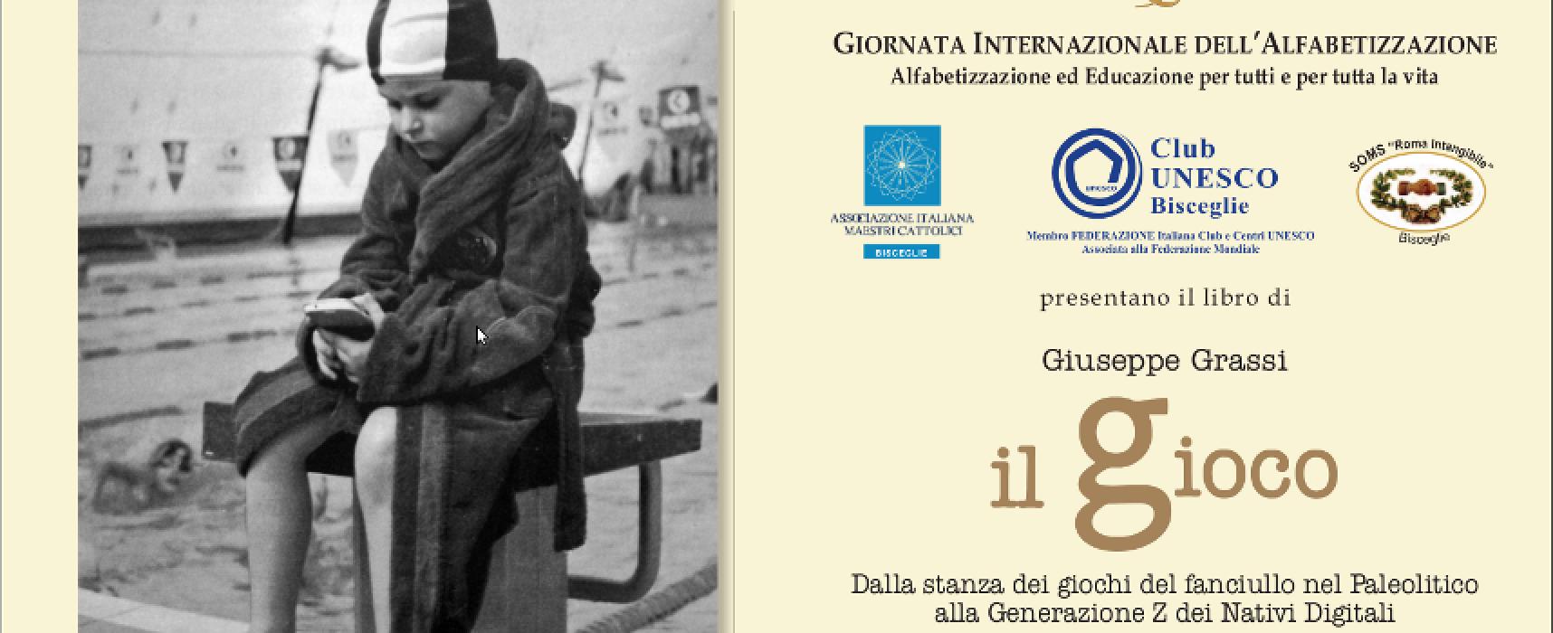Giornata mondiale dell'alfabetizzazione, sabato 6 l'incontro promosso dal Club Unesco Bisceglie