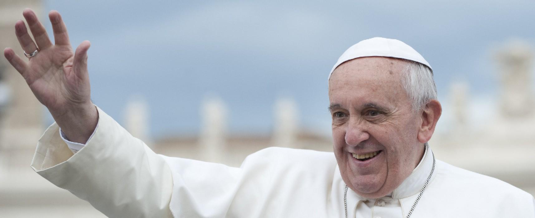 """Papa Francesco agli imprenditori della Bat: """"La persona sia sempre al centro dell'economia"""""""