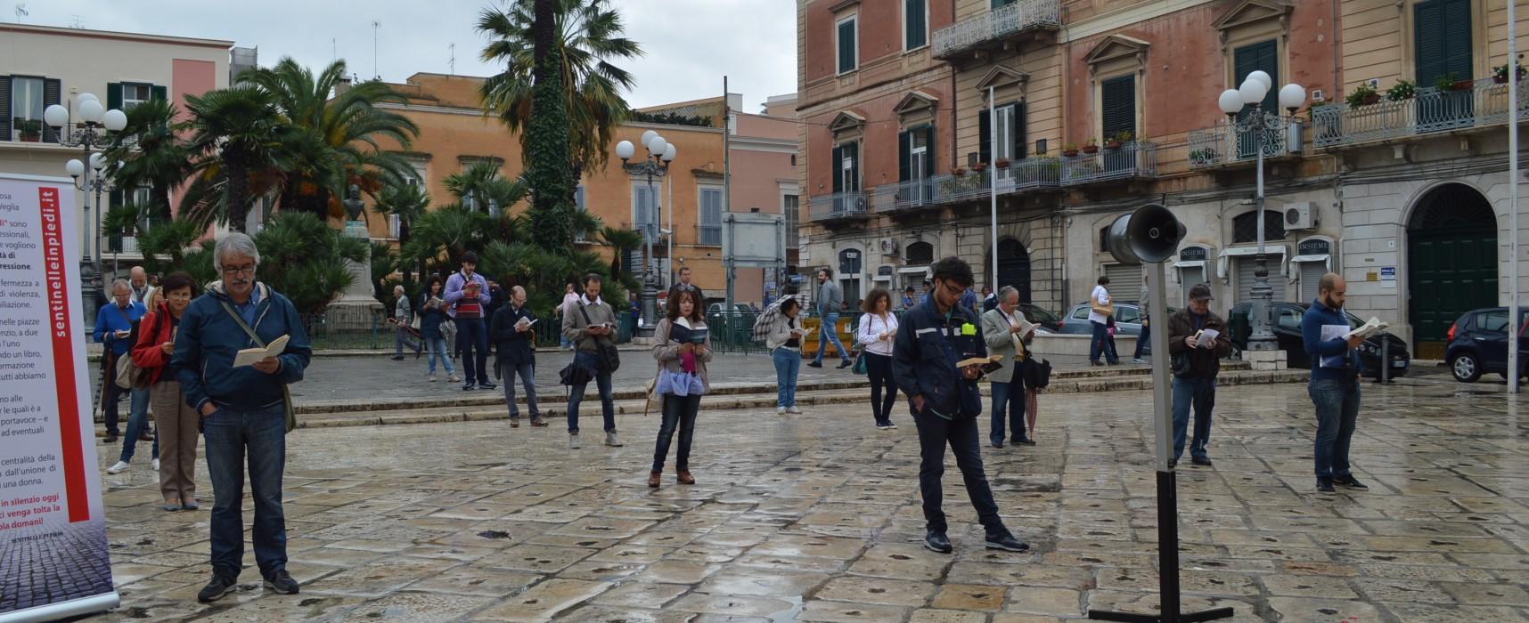 """Sentinelle in piedi: """" Al nostro fianco in piazza a Bari anche una coppia omosessuale"""""""