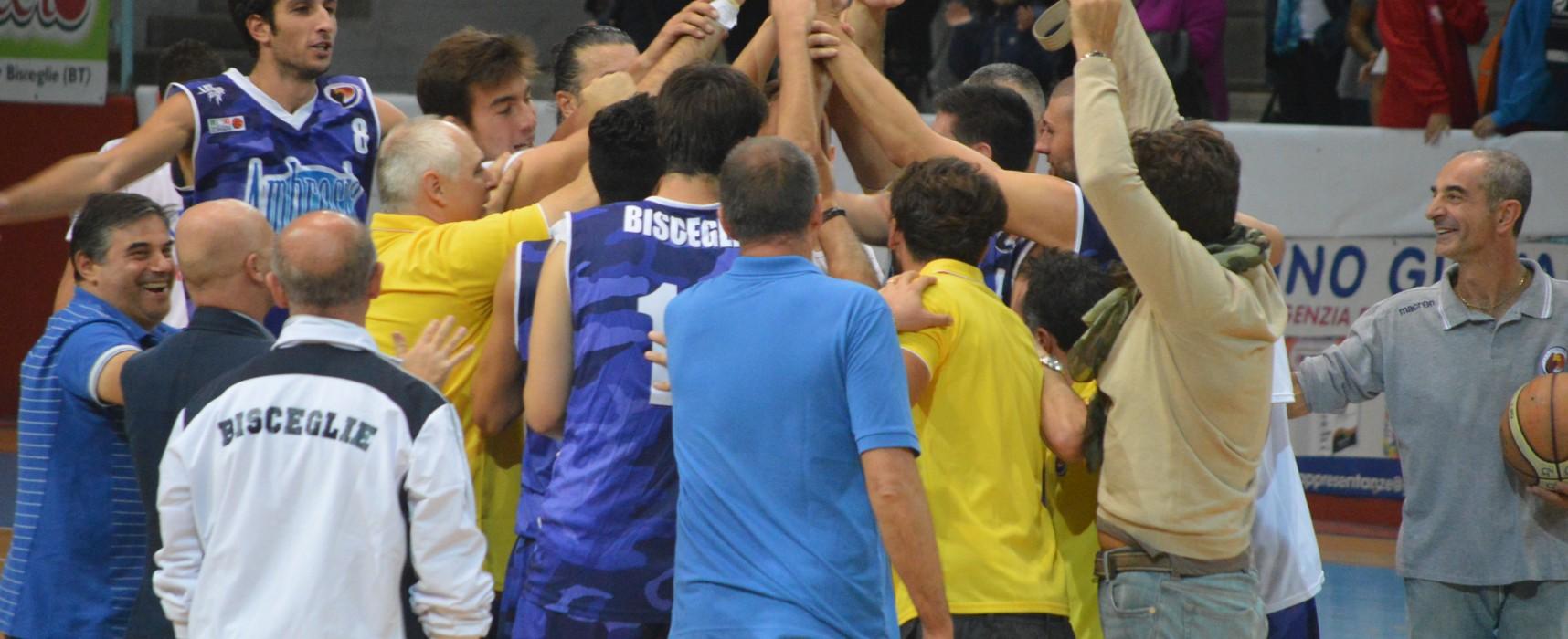 Esordio vincente dell'Ambrosia basket Bisceglie contro la quotata Palermo