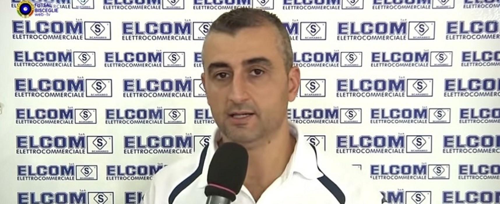 Futsal Barletta-Futsal Bisceglie, le interviste a Ferrazzano e Ventura/VIDEO
