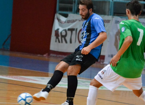 Il Futsal Bisceglie cede in prestito Angelo Cassanelli al Futsal Canosa