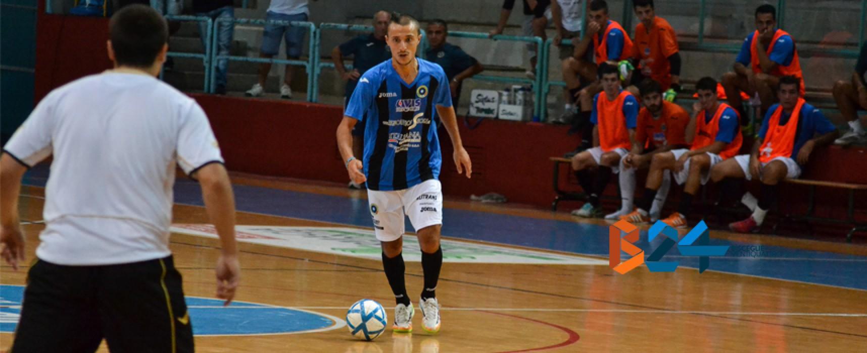 Settebello Futsal Bisceglie: batte il Manfredonia e consolida il primato
