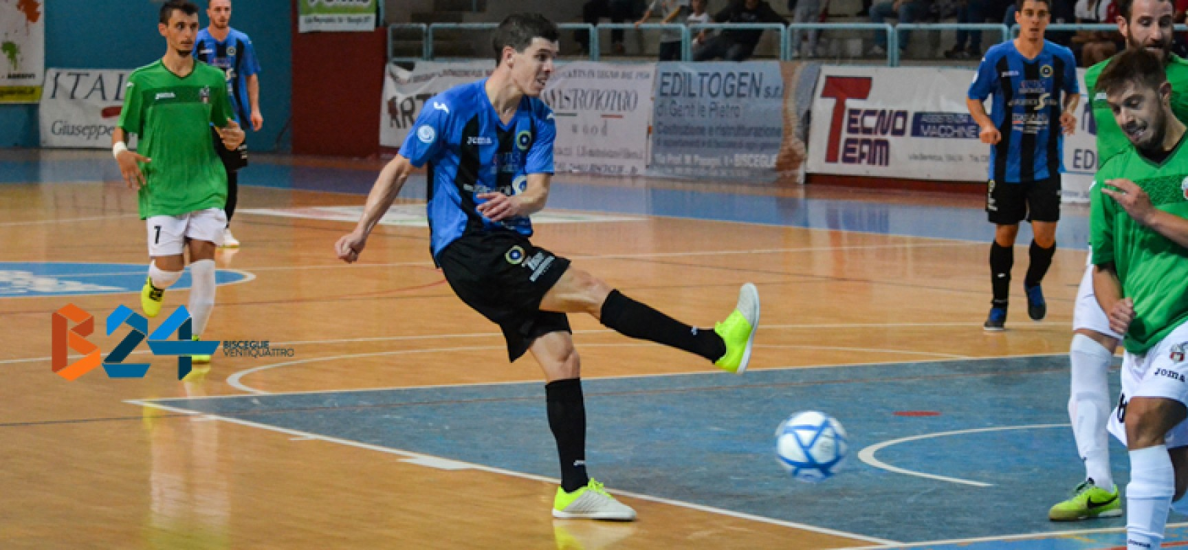 Tutto facile per il Futsal Bisceglie, 6-0 al Modugno