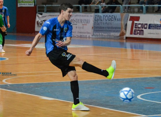 Il Futsal Bisceglie dilaga in Molise: dieci reti e primato confermato
