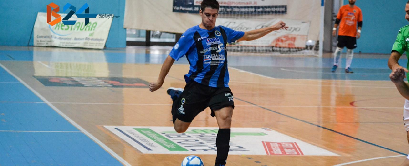 Futsal Bisceglie: pari, polemiche ed emozioni. A Rutigliano è 3-3